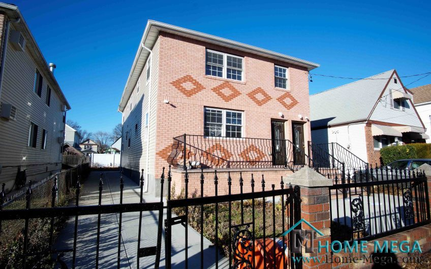 Two Family Home for Sale In Jamaica, Queens NY 11434. Jamaica Fantasy, Perfectly Built NEW 2 Family!