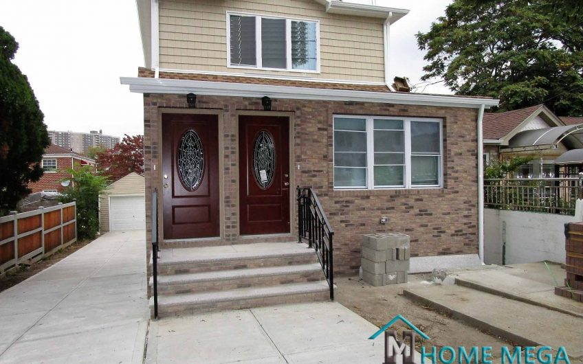 Two Family Home For Sale In Baychester, Bronx NY 10469. Awesomely Remodeled and Detached  XL 2 Family!