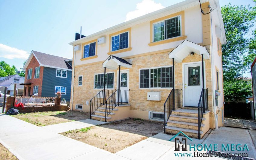 Two Family Home For Sale in South Ozone Park, Queens NY 11436. Newly Constructed GORGEOUS 2 Family!