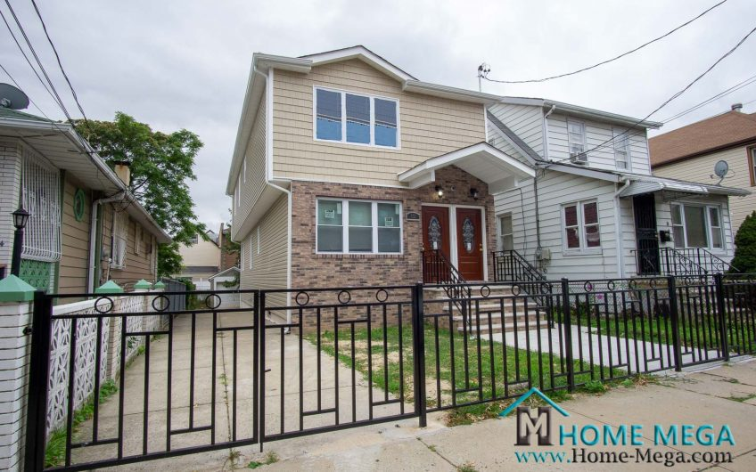 Two Family Home For Sale in Wakefield, Bronx NY 10466. Fully Detach & Beautifully Renovated Two Family!